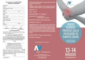 CORSO TEORICO-PRATICO SULLE PATOLOGIE DI GOMITO-MANO