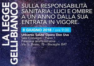 LA LEGGE GELLI-BIANCO SULLA RESPONSABILITA' MEDICA