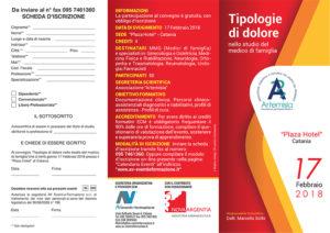 TIPOLOGIE DI DOLORE NELLO STUDIO DEL MEDICO DI FAMIGLIA