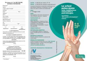 LE ORTESI POLSO-MANO NELLA RIABILITAZIONE CONSERVATIVA E POST-CHIRURGICA