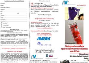 NEUTROPENIA IN EMATOLOGIA E PORPORA IDIOPATICA TROMBOCITOPENICA: STATO DELL'ARTE