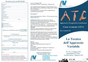 CORSO ATC® AVANZATO - LA TECNICA DELL'APPROCCIO VARIABILE
