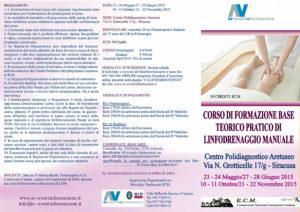 CORSO DI FORMAZIONE BASE DI LINFODRENAGGIO MANUALE
