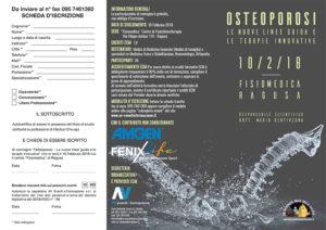 OSTEOPOROSI: LE NUOVE LINEE GUIDA E TERAPIE INNOVATIVE
