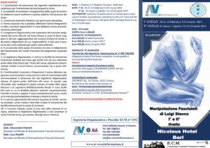 MANIPOLAZIONE FASCIALE® DI LUIGI STECCO I E II LIVELLO
