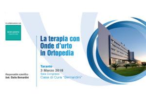 LA TERAPIA CON ONDE D'URTO IN ORTOPEDIA
