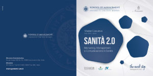 MASTER EXECUTIVE: SANITA' 2.0 MARKETING, MANAGEMENT E COMUNICAZIONE SANITARIA