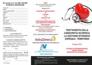 TRATTAMENTO DELLA CARDIOPATIA ISCHEMICA: LA GESTIONE INTEGRATA OSPEDALE - TERRITORIO