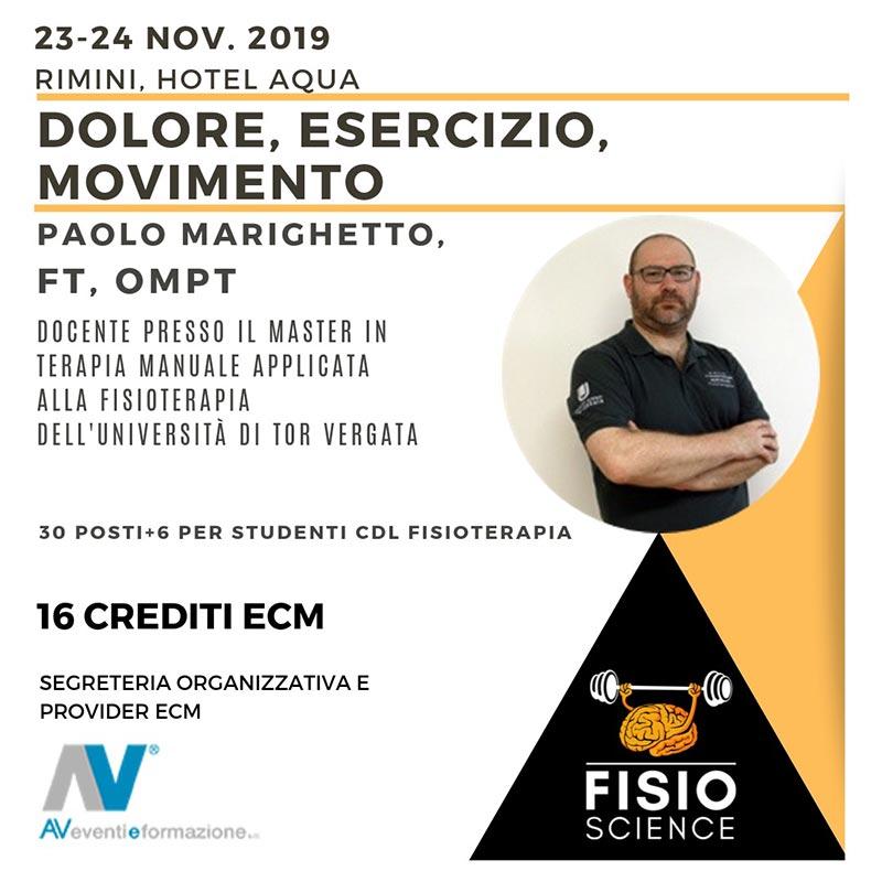 fisio-scienze 2° edizione - Corso Ecm AV Eventi e Formazione