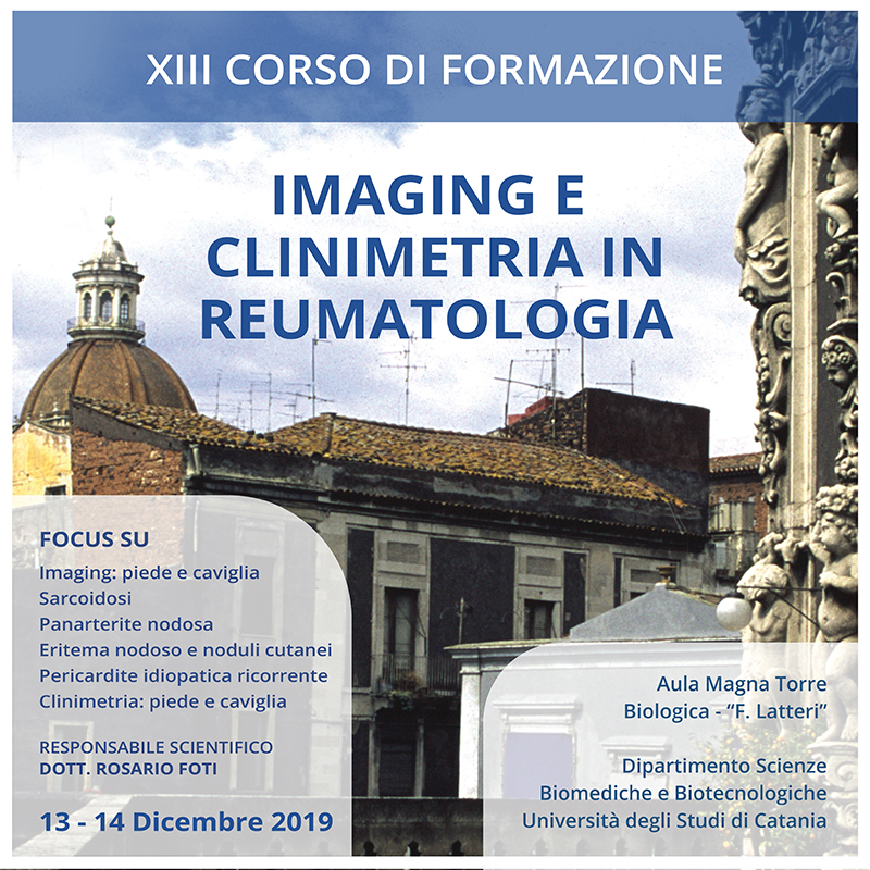 IMAGING E CLINIMETRIA IN REUMATOLOGIA