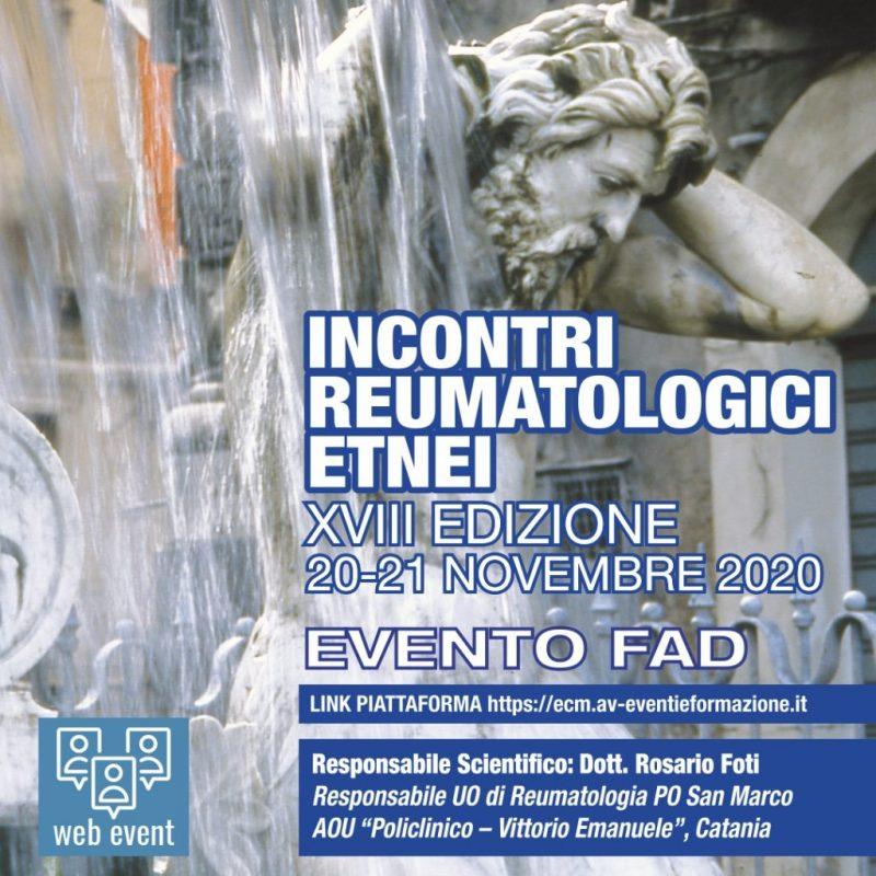 INCONTRI REUMATOLOGICI ETNEI - XVIII EDIZIONE