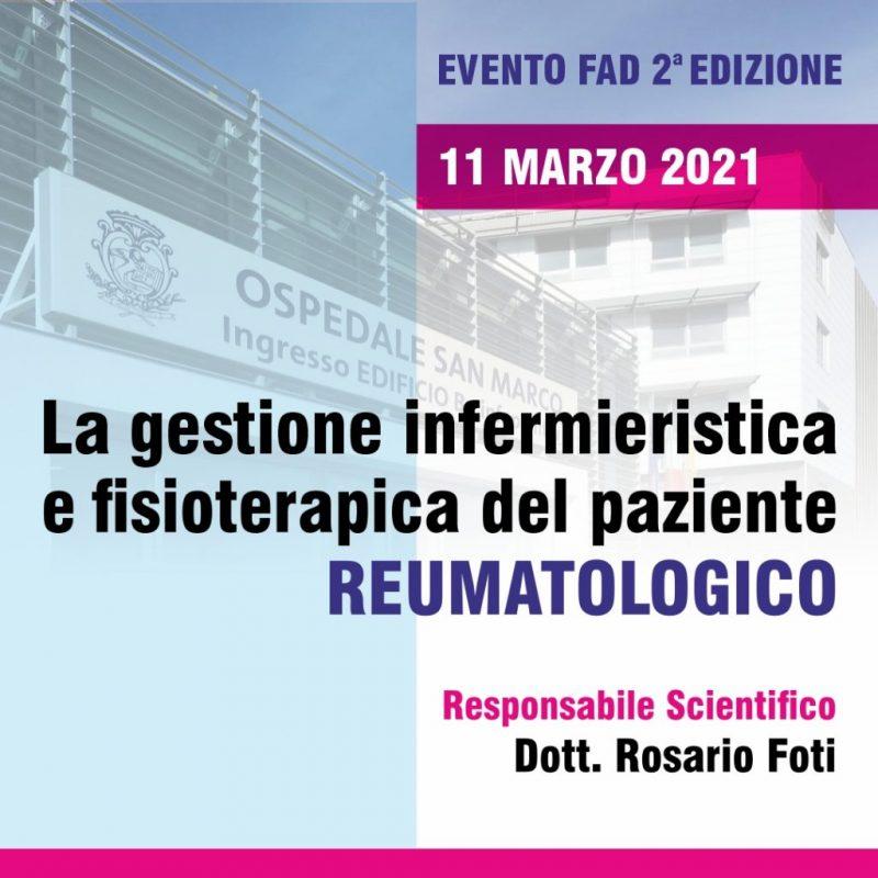 LA GESTIONE INFERMIERISTICA E FISIOTERAPICA DEL PAZIENTE REUMATOLOGICO - seconda edizione