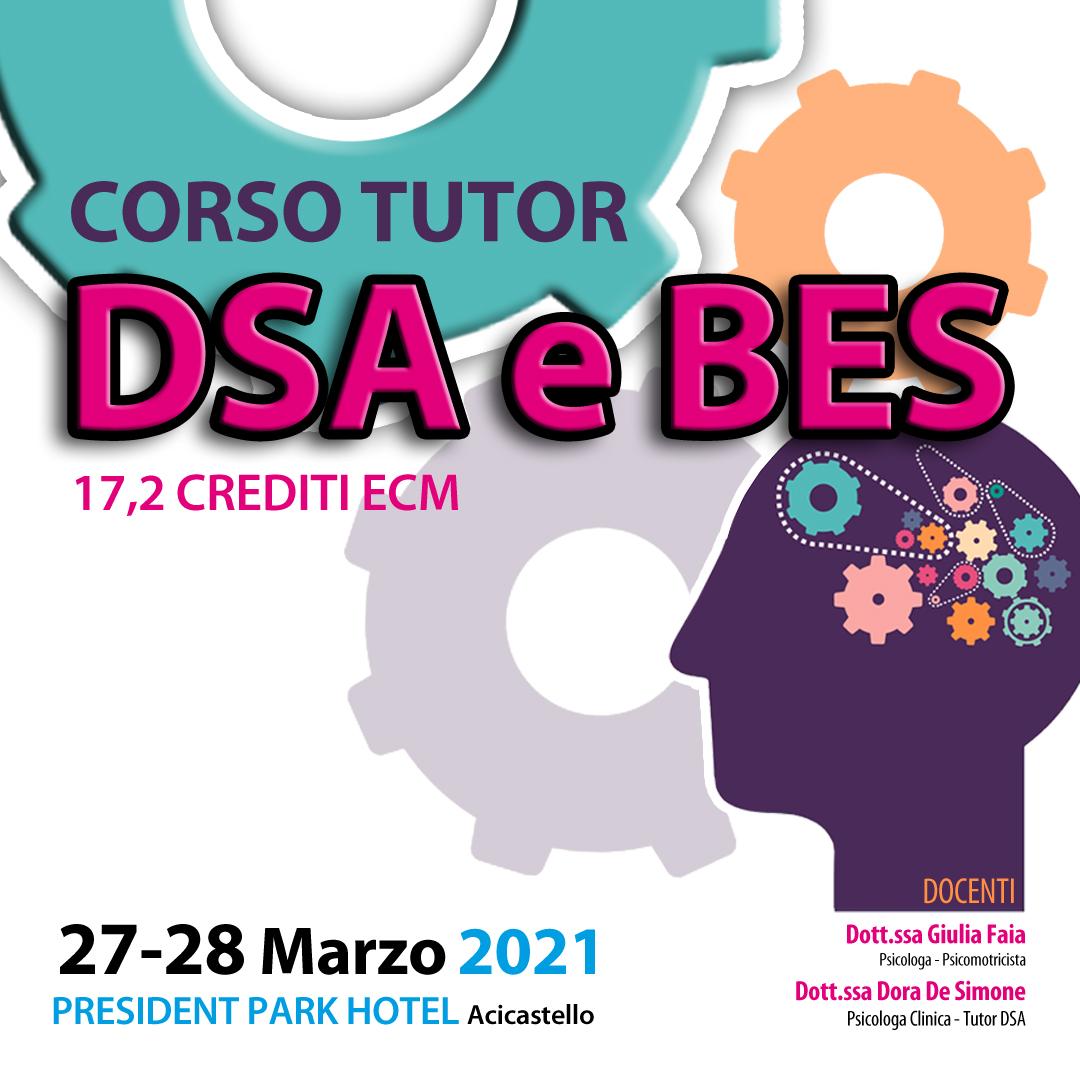 CORSO TUTOR DSA E BES