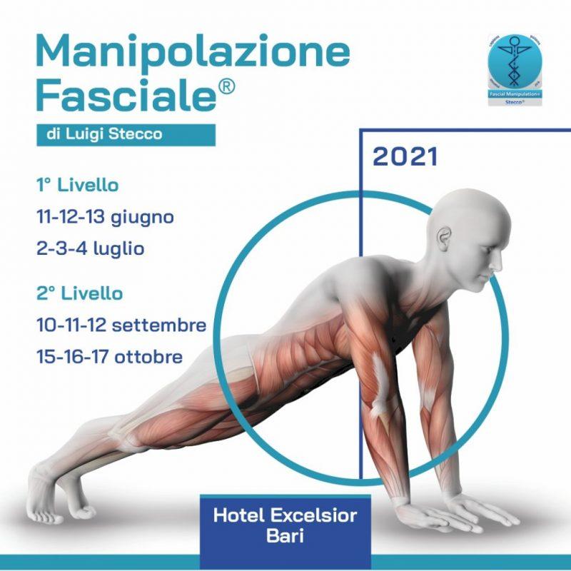 MANIPOLAZIONE FASCIALE I - II LIVELLO